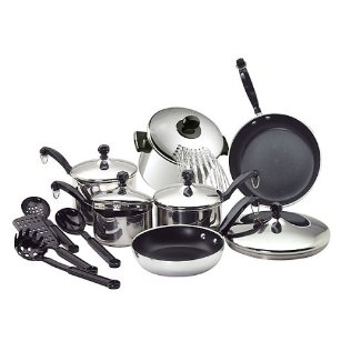 Farberware 15pc Cookware Set Promotion
